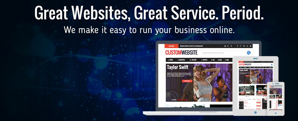 Great Websites, Great Service. Period